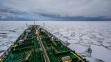 Руски танкер за първи път плава през Арктика без ледоразбивач