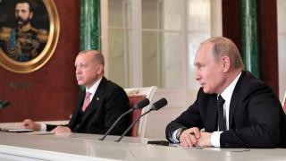 Ердоган към Путин: Атаките в Идлиб са заплаха за националната сигурност на Турция