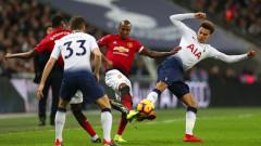 Тотнъм - Ман Юнайтед 0:1, гол на Рашфорд