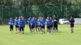 Левски с първа тренировка в Австрия
