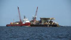"""Военни кораби забелязани в района на строителството на """"Северен поток 2"""""""