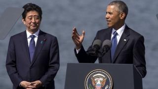 """Обама нарече визитата на Абе в """"Пърл Харбър"""" исторически жест"""