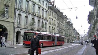 Швейцария стана ледена пързалка