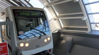 """Ясна е вече датата на пускането на новата метростанцията на """"Черни връх"""""""