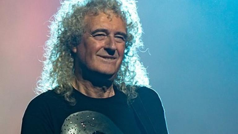 Китаристът на рокгрупата Queen Браян Мей съобщи, че е получил