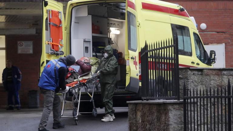Числата за смъртността от COVID-19 в Русия са занижени в пъти, според демографски данни