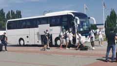 Локомотив (Пловидв) пристигна в Чехия