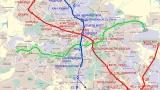 Промени в движението във връзка със строителството на метрото