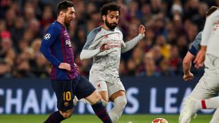 От Барселона пожелаха бързо възстановяване на Мохамед Салах