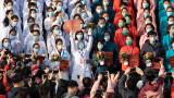 Футболните национали на Китай се връщат в родината си