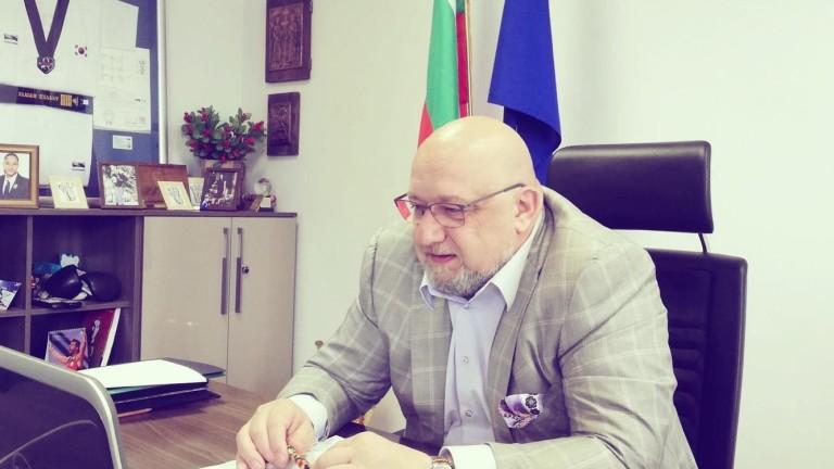 Министърът на младежта и спорта Красен Кралев проведе онлайн работна