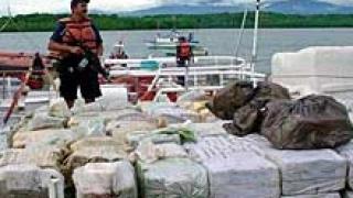 В Мексико намериха 1 т. кокаин в замразени акули