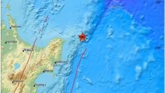 Много силно земетресение в Нова Зеландия, опасност от цунами