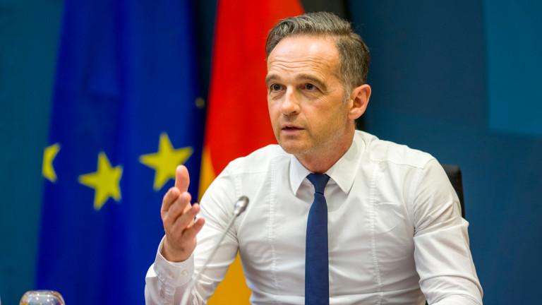 """Германия недоволства от действията на САЩ срещу """"Северен поток 2"""""""