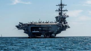 САЩ дислоцираха самолетоносач и бомбардировачи срещу Иран в Близкия изток
