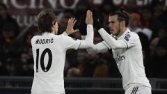 """Реал (Мадрид) взе своето на """"Олимпико"""" и триумфира в група """"G"""" на ШЛ"""