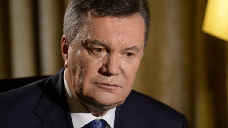 Адвокат на бившия президент на Украйна Виктор Янукович съобщи, че