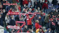 ЦСКА заработи около 250 000 лева от билети