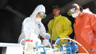 ВМА проверява готовността си за бедствия и епидемии