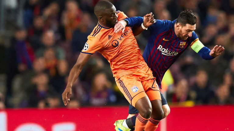 Барселона - Лион, 5:1 (Развой на срещата по минути)