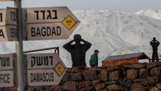 Престрелка на границата Израел-Сирия