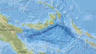 Земетресение с магнитуд 7,5 удари Папуа Нова Гвинея