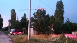 """Скъсан проводник създава опасност на езерото в столичния квартал """"Дружба"""""""