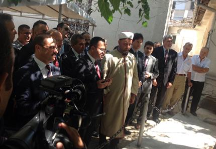 Касим Дал плътно до турския вицепремиер в Кърджали