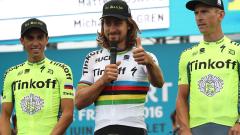 Саган счупи каръка, спечели втория етап от Тура и облече жълтата фланелка
