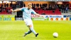 Чаканият в Левски - обявен за защитник №1 в Швеция