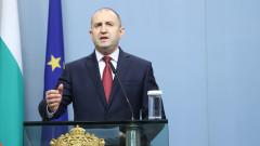 За социални и икономически мерки в кризата настоя Румен Радев