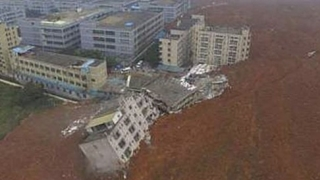 Най-малко 91 души са изчезнали след свлачище в Китай