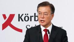 Президентът на Южна Корея иска среща с Ким Чен-ун