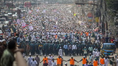 Протест на мюсюлмани в Бангладеш: Макрон е най-големият терорист в света
