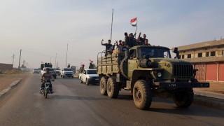 Сирия си възвърна контрола над по-голямата част от границата с Турция и Ирак