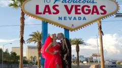 Тоца празнува годишнина от сватбата си във Вегас (СНИМКИ)