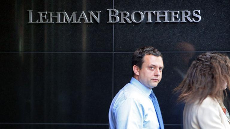 Стотици банкери от Lehman Brothers организират тайно събиране в Лондон,