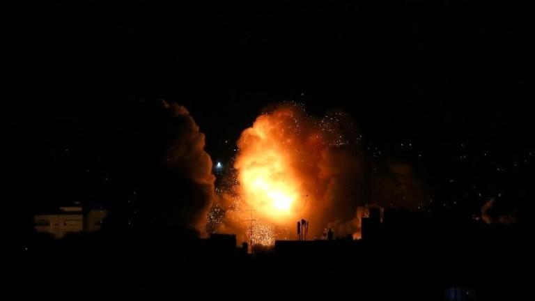 """Изтребители на Израел удариха 25 позиции на """"Хамас"""" в Газа"""