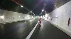 """Временно движението в тунел """"Правешки ханове"""" е само в едната лента"""