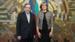 България потвърди подкрепата си за ядрената сделка с Иран