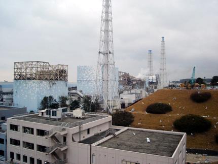 """Радиоактивен ад в Първи блок на """"Фукушима"""""""
