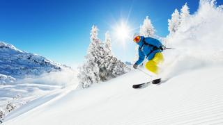 14 впечатляващи и нестандартни места за каране на ски