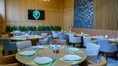 От Лудогорец се похвалиха с луксозен ресторант за своите футболисти