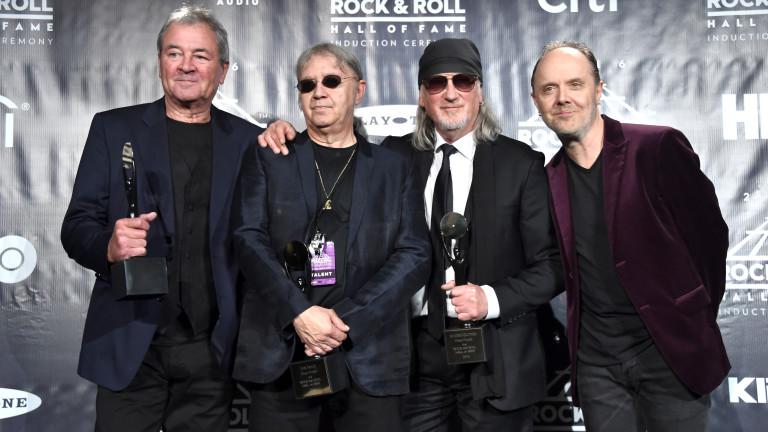 Deep Purple, една от най-емблематичните групи в музикалната история, се
