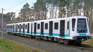 Как ще изглеждат новите влакове на метрото в София?