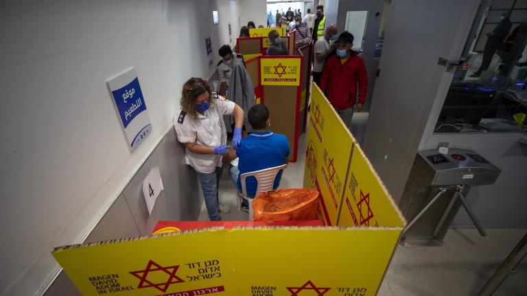50% от израелците напълно ваксинирани срещу COVID-19
