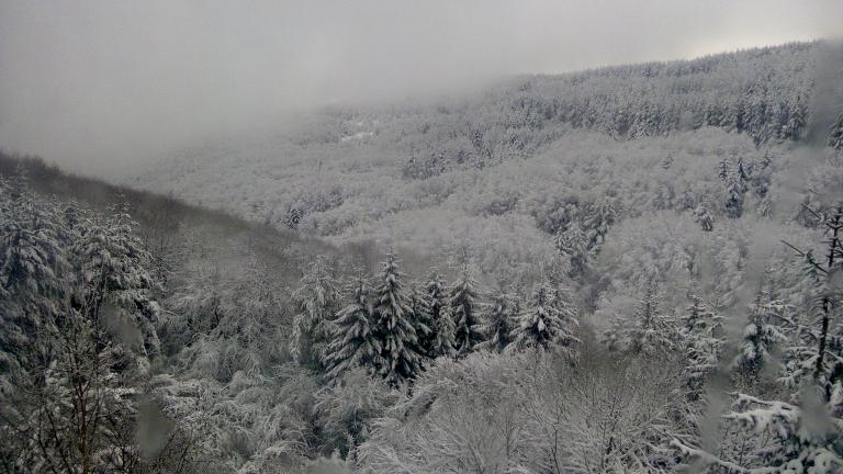 Затворени планински пътища във Витоша