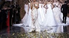 Ирина Шейк облече булчинска рокля