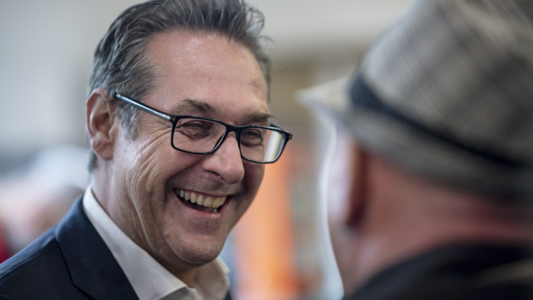 Виена разследва крайнодесния политик Хайнц-Кристиан Щрахе