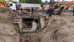 Частно имение построено върху магистралния водопровод на Велико Търново